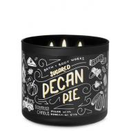 Bougie 3 mèches SUGARED PECAN PIE Bath and Body Works HALLOWEEN