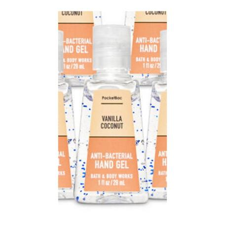 Gel antibactérien VANILLA COCONUT Bath and Body Works