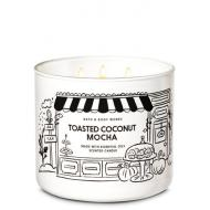 Bougie 3 mèches TOASTED COCONUT MOCHA Bath and Body Works