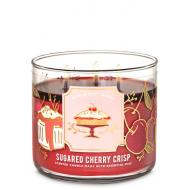 Bougie 3 mèches SUGARED CHERRY CRISP Bath and Body Works