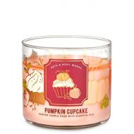 Bougie 3 mèches PUMPKIN CUPCAKE Bath and Body Works