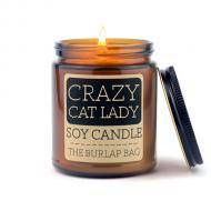 Bougie parfumée CRAZY CAT LADY The Burlap Bag