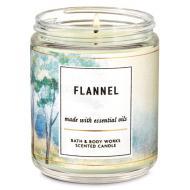Bougie mason jar FLANNEL Bath and Body Works