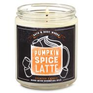 Bougie mason jar PUMPKIN SPICE LATTE Bath and Body Works