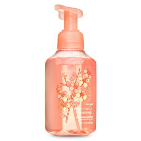 Savon mousse PINK PEACH BLOSSOM Bath and Body Works Hand Soap