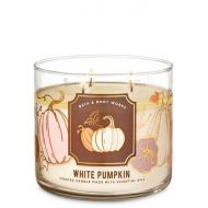 Bougie 3 mèches WHITE PUMPKIN Bath and Body Works France