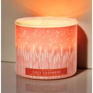 Bougie 3 mèches COZY CASHMERE Bath and Body Works