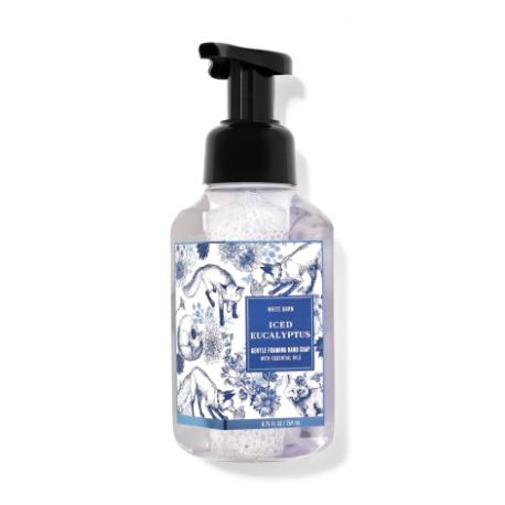 Savon mousse ICED EUCALYPTUS Bath and Body Works Hand Soap