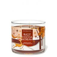 Bougie 3 mèches HOT COCOA AND CREAM Bath and Body Works