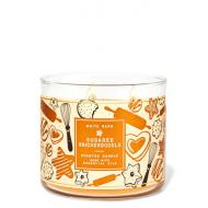 Bougie 3 mèches SUGARED SNICKERDOODLE Bath and Body Works Liege