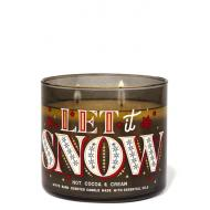 Bougie 3 mèches HOT COCOA AND CREAM Bath and Body Works Suisse