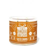 Bougie 3 mèches SALTED CARAMEL Bath and Body Works France