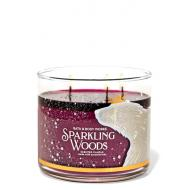 Bougie 3 mèches SPARKLING WOODS Bath and Body Works