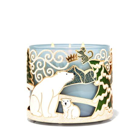 Porte bougie ARCTIC CRITTERS Bath and Body Works France