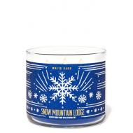 Bougie 3 mèches SNOW MOUNTAIN LODGE Bath and Body Works France