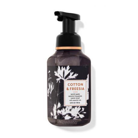 Savon mousse COTTON & FREESIA Bath and Body Works Hand Soap Difmu Paris France