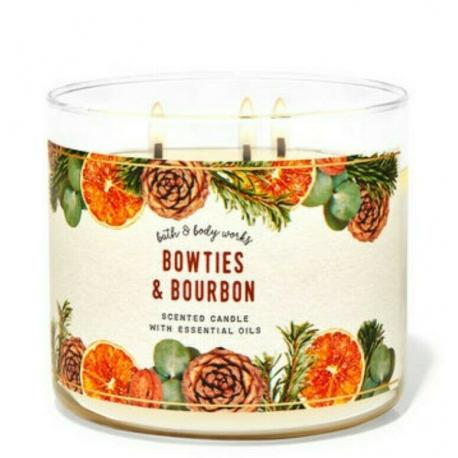 Bougie 3 mèches BOWTIES AND BOURBON Bath and Body Works