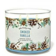 Bougie 3 mèches SMOKED VANILLA Bath and Body Works