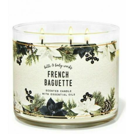 Bougie 3 mèches FRENCH BAGUETTE Bath and Body Works