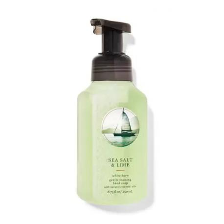 Savon mousse SEA SALT AND LIME Bath and Body Works Hand Soap