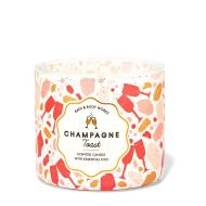 Bougie 3 mèches CHAMP TOAST Bath and Body Works