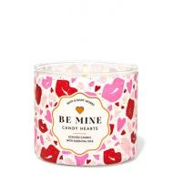 Bougie 3 mèches BE MINE / CANDY HEARTS Bath and Body Works