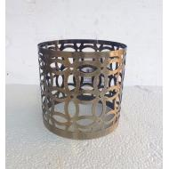 Porte bougie BRONZE GEO Colonial Candle