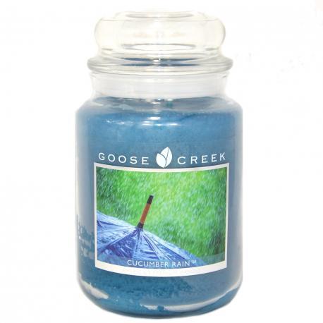 Grande Jarre 2 mèches CUCUMBER RAIN Goose Creek Candle