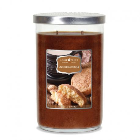 Bougie parfumée Tumbler 2 mèches SNICKERDOODLE Goose Creek Candle US USA