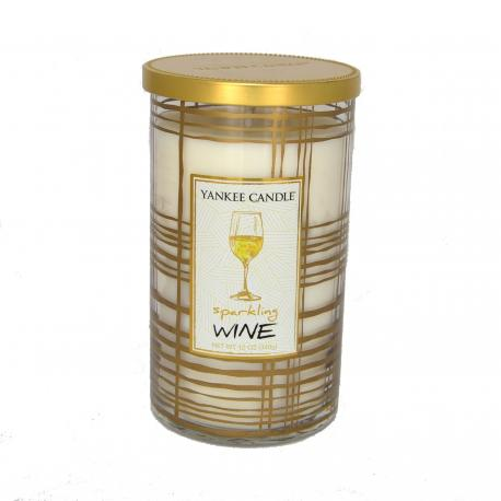 Bougie parfumée Moyenne Colonne SPARKLING WINE Yankee Candle US USA