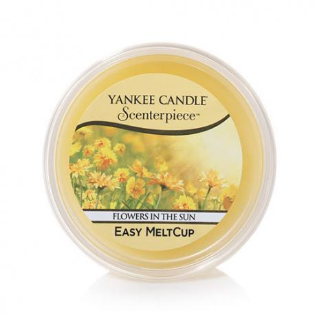 Meltcup FLOWERS IN THE SUN Yankee Candle exclu US USA