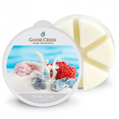 Cire parfumée WHITE CORAL Goose Creek Candle France Difmu