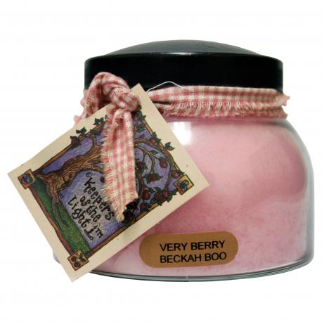 Bougie parfumée Mama Jar VERY BERRY BECKAH BOO A Cheerful Giver candle US USA