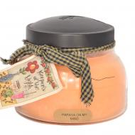 Bougie parfumée Mama Jar PAPAYA ON MY MIND A Cheerful Giver candle US USA