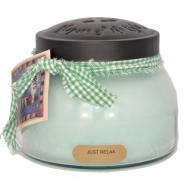 Bougie parfumée Mama Jar JUST RELAX A Cheerful Giver candle US USA