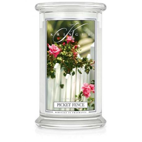 Grande Jarre 2 mèches PICKET FENCE Kringle Candle