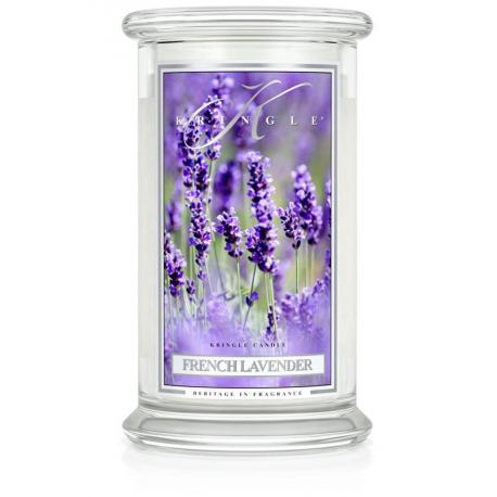 Grande Jarre 2 mèches FRENCH LAVENDER Kringle Candle