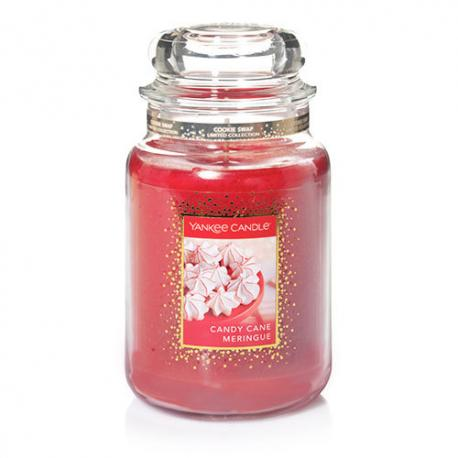 Grande Jarre CANDY CANE MERINGUE Yankee Candle