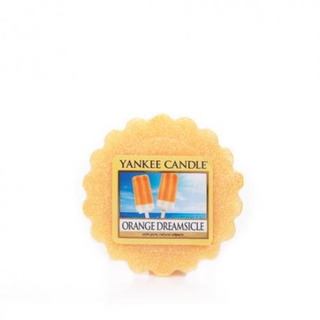Tartelette ORANGE DREAMSICLE Yankee Candle wax tart exclu US USA