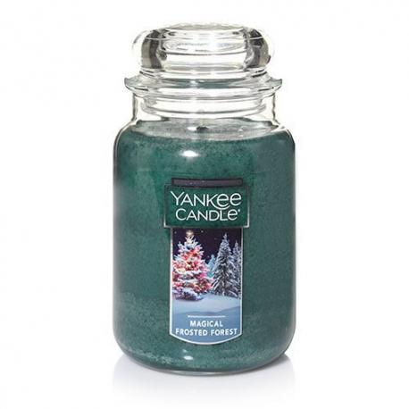 Grande Jarre MAGICAL FROSTED FOREST Yankee Candle Exclu US USA
