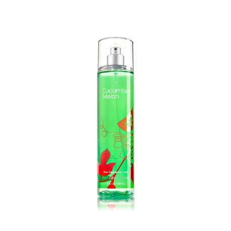 Brume parfumée  CUCUMBER MELON Bath and Body Works fragrance body mist US USA