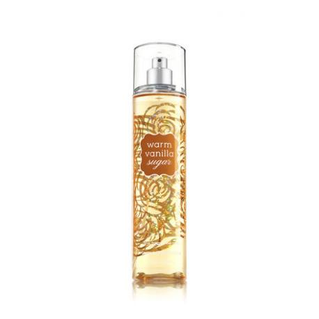 Brume parfumée WARM VANILLA SUGAR Classique Bath and Body Works fragrance body mist US USA