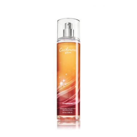 Brume parfumée CASHMERE GLOW Bath and Body Works fragrance body  mist US USA