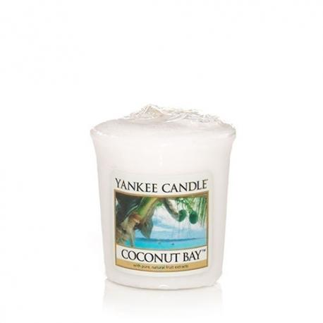 Votive de cire parfumée COCONUT BAY Yankee Candle wax tart US USA