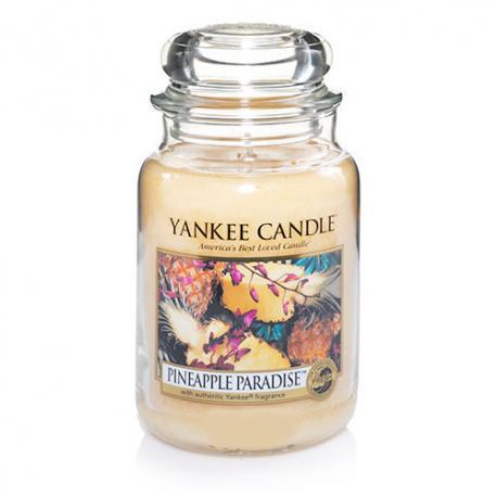 Bougie parfumée Grande Jarre PINEAPPLE PARADISE Yankee Candle exclu US USA