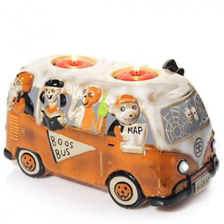 Votive  holder BONEY BUNCH BOOS BUS Yankee Candle Halloween US USA