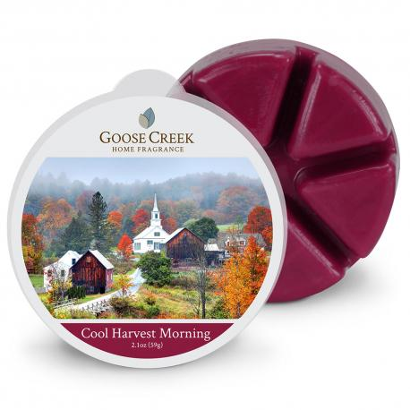 Cire parfumée COOL HARVEST MORNING Goose Creek Candle wax melt US USA
