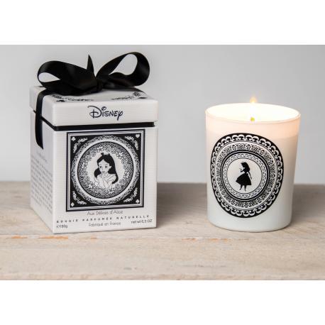 Bougie parfumée AUX DÉLICES D'ALICE Disney Alice au pays des merveilles Wonderland