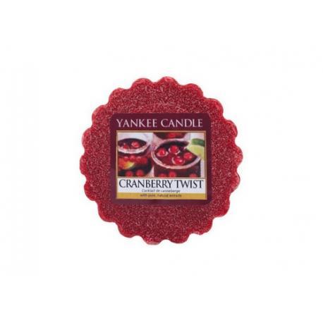 Tartelette CRANBERRY TWIST Yankee Candle wax tart exclu US USA