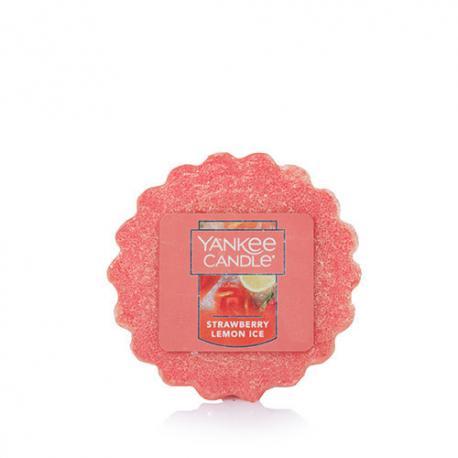 Tartelette de ccire parfumée STRAWBERRY LEMON ICE  Yankee Candle wax tart US USA
